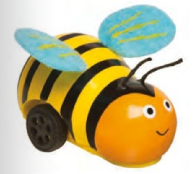 Bee Racer Pull Back Car