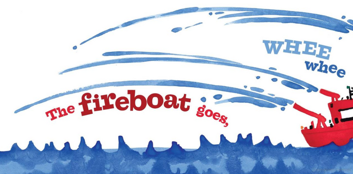 Boats GO Board Book for Preschoolers - sample page