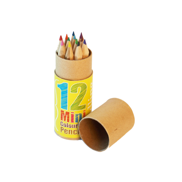 Seedling Mini 12 Color Pencils set