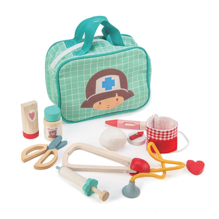 Wooden Medical Set Kit - Tender Leaf Toys