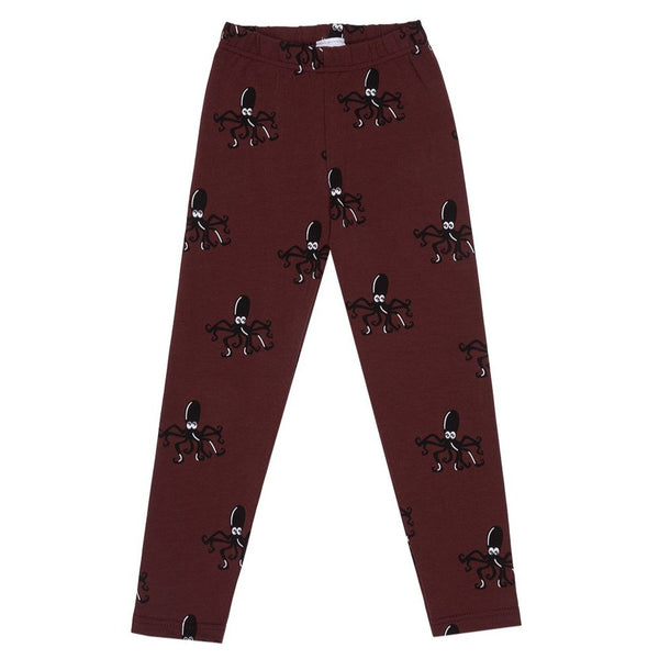 Wine Under the Sea kids Leggings
