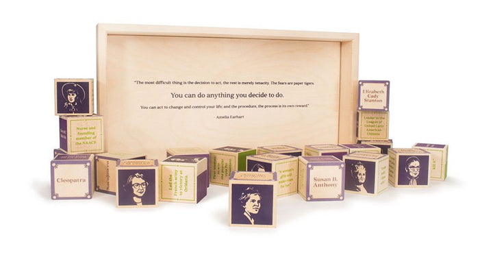Amelia Earhart quote inside of box