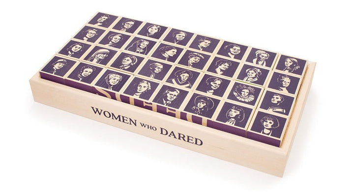 whole set of women who dared blocks