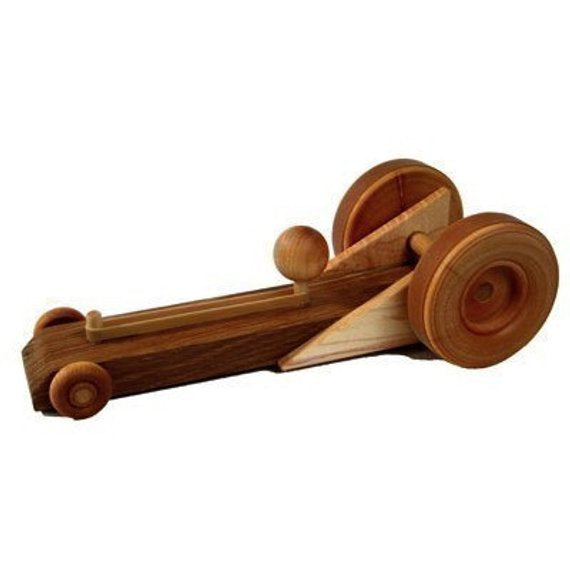 Wood Toy Shop Rubber Band Racer