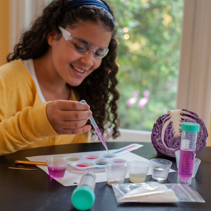 Yellow Scope Acids, Bases & pH Chemistry Kit