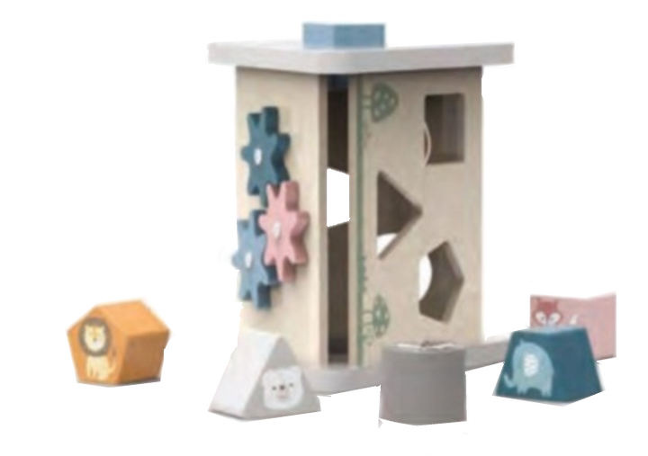 Toddler Wooden Activity Tower -
