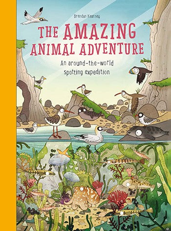 The Amazing Animal Adventure Activity Book