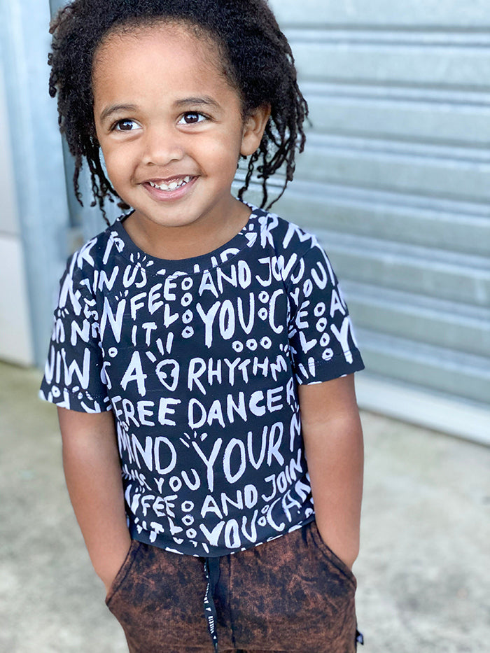 Kids Dance Quote Tee Shirt