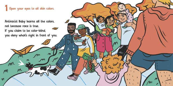 Antiracist Baby Board Book - page sample