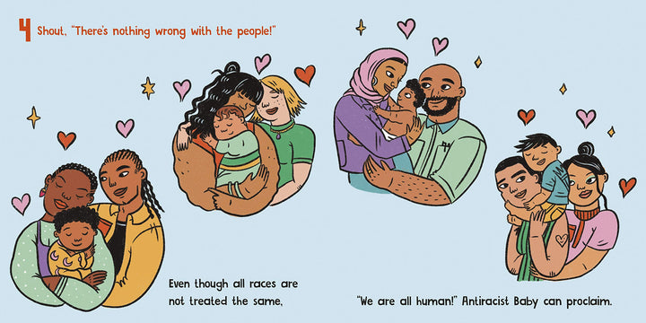 Antiracist Baby sample page