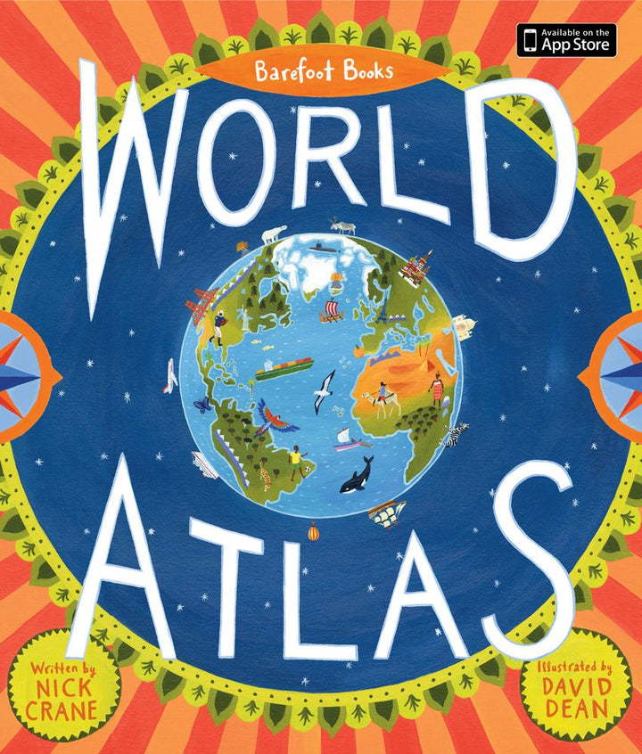 World Atlas Hardcover Book for Kids 8+