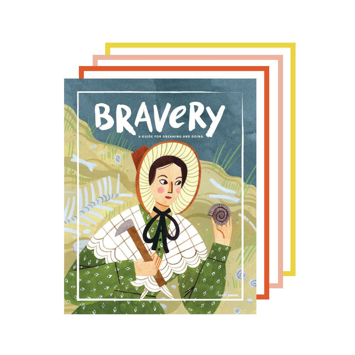 Bravery Magazine: Issue Nine (Mary Anning)
