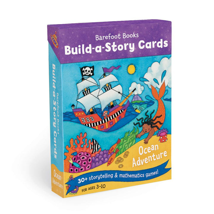Copy of Copy of Build a Story Cards - ocean adventure