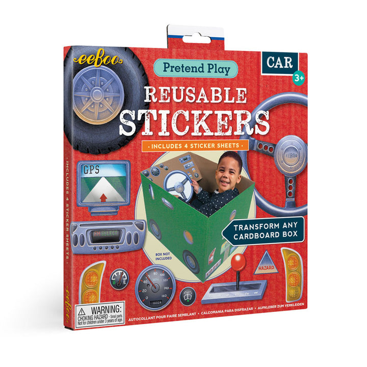 Car Pretend Play Stickers