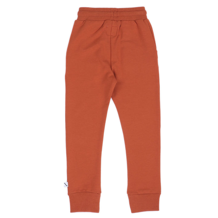Carlijnq Basics Sweatpant in pumpkin - back