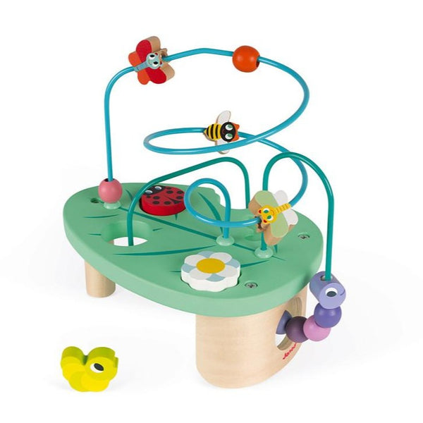 Janod Caterpiller Looping & Shape Sorter Toy