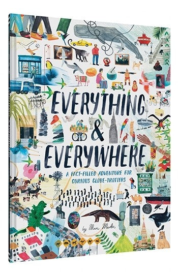Everything & Everywhere Book for Kids 5+