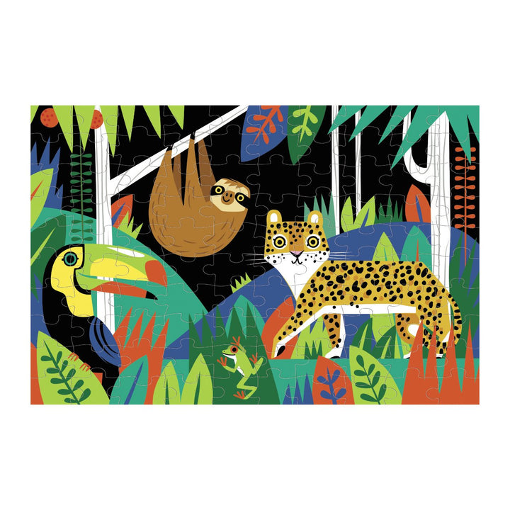 Rainforest Glow in the Dark Puzzle