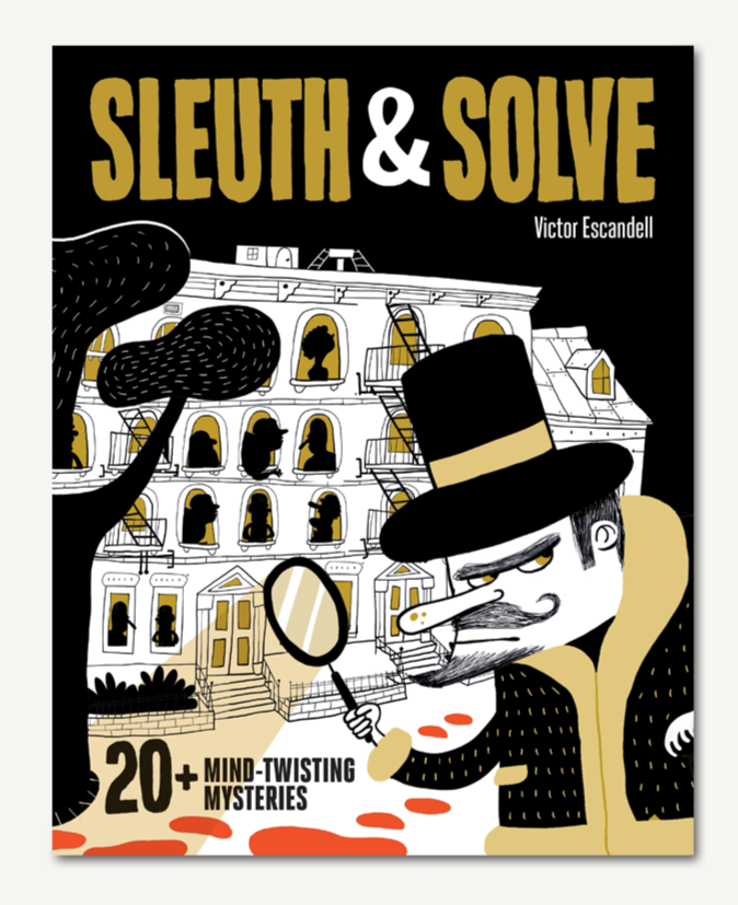 Sleuth & Solve Mystery Solving Book for Kids 8+