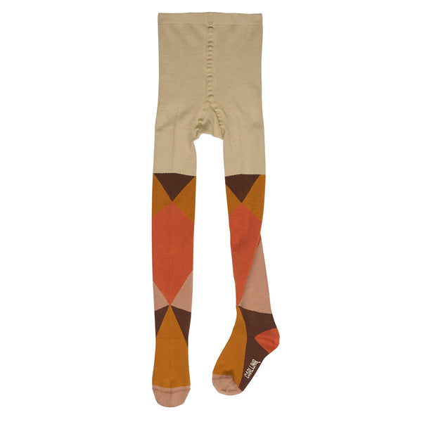Color Block Tights by CarlijnQ (orange)