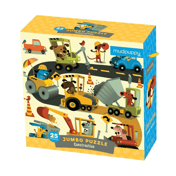 Jumbo Piece Construction Theme Puzzle for Toddler