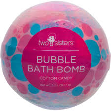 Cotton Candy Scented Bubble Bath Bomb