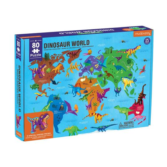 Dinosaur World 80 Piece Puzzle
