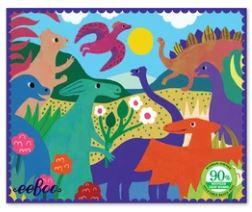 Dinosaurs in the Park Mini Puzzle