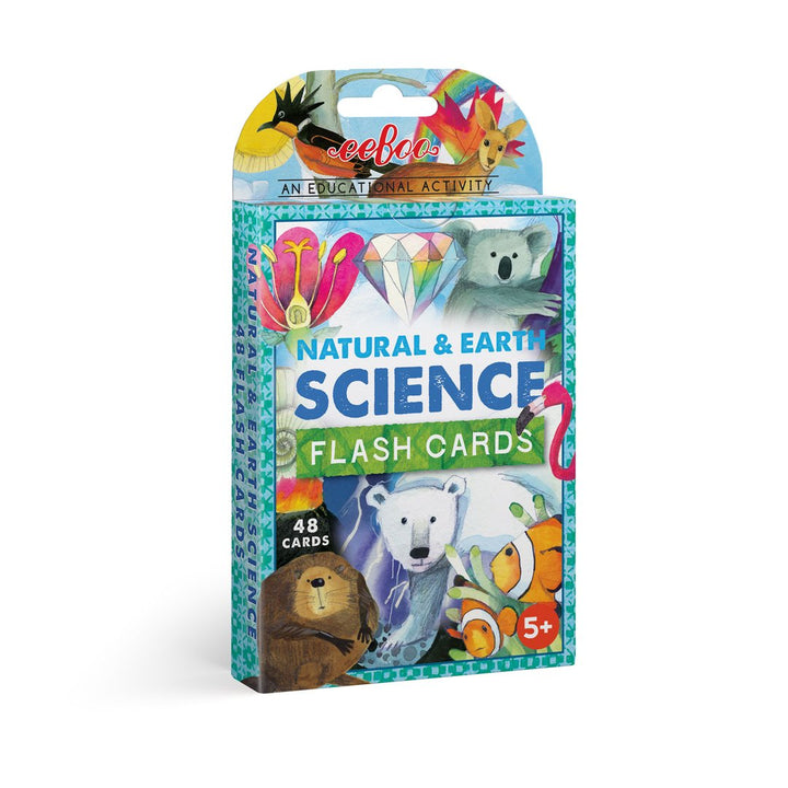 Natural & Earth Science Flash Cards for Kids 5+