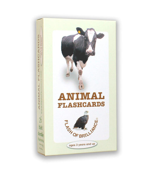 Flash of Brilliance Animals Flash Cards