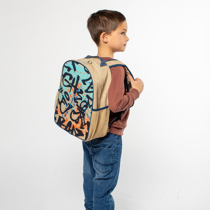 Graffiti Toddler Backpack