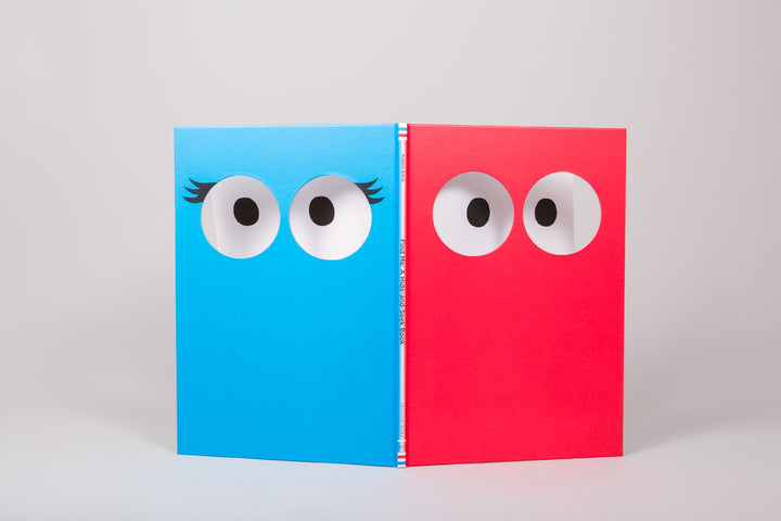 Find Me: Hide & Seek Book - front & back covers