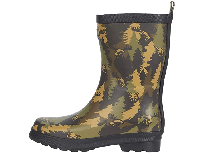 Hatley Camo Matte Rain Boot - side