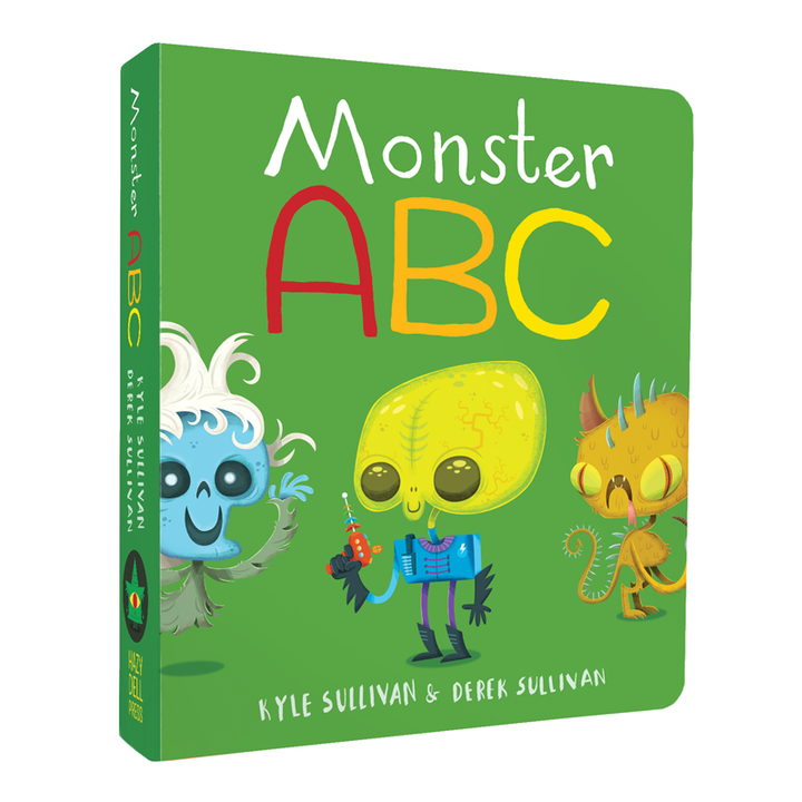 Monster ABC board book