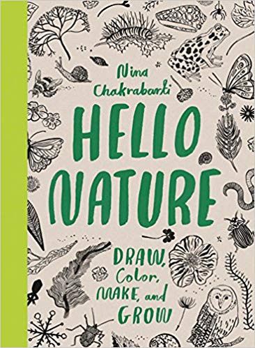 Hello Nature Draw, Color, and Grow Activity Book