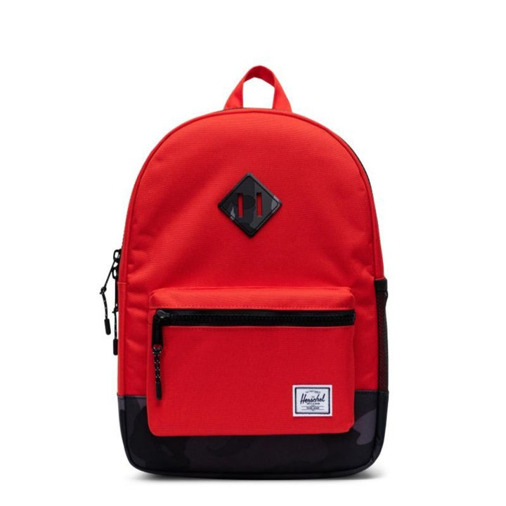 Herschel Kids Red/Camo Youth Backpack - Ages  8+