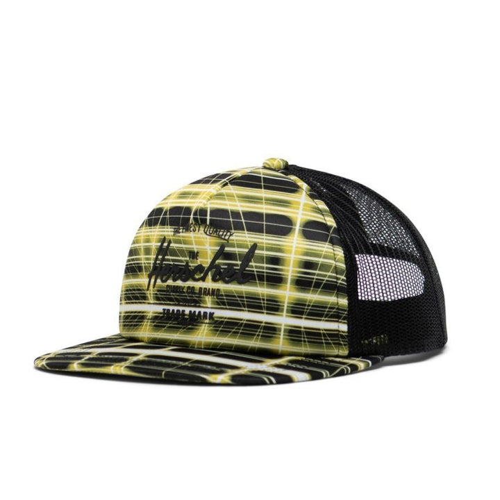 Herschel Whaler Youth Neon Hat (green/black)