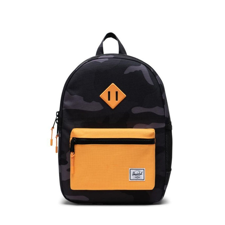 Herschel Youth Camo/Orange Backpack - Ages 8-12