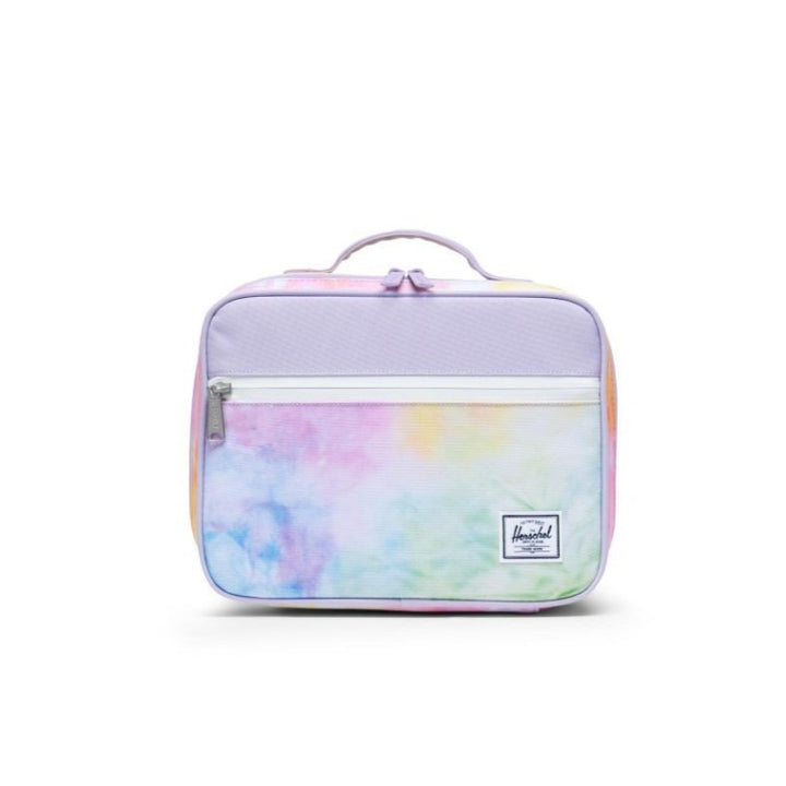 Herschel Kids Lunch Box in Lilac Tie-Dye Design