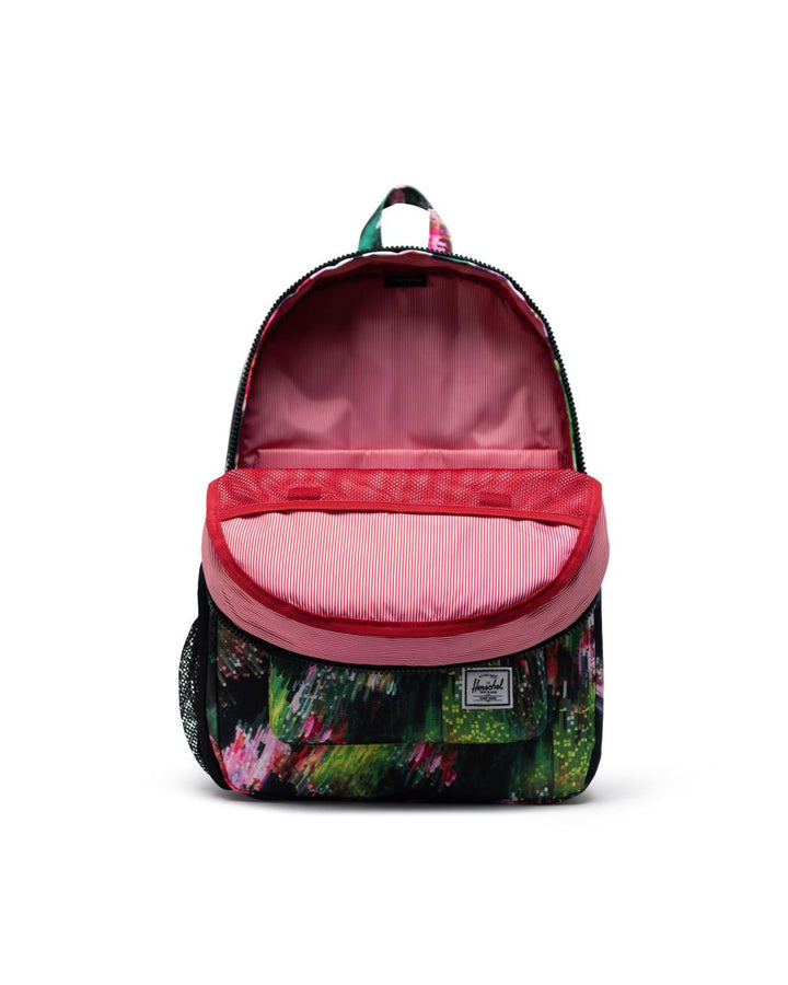 Floral Backpack/Diaper bag inside