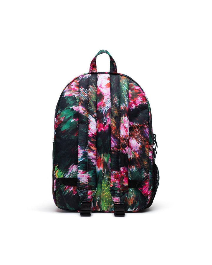 Floral Backpack/Diaper Bag -back