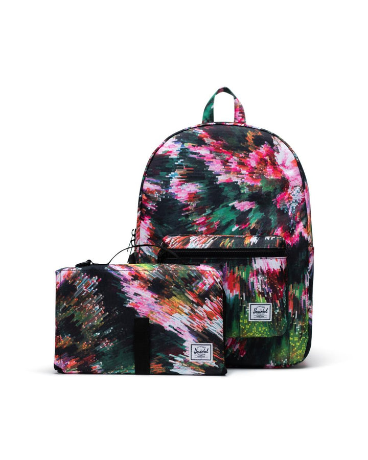 Digital Floral Backpack/Diaper bag