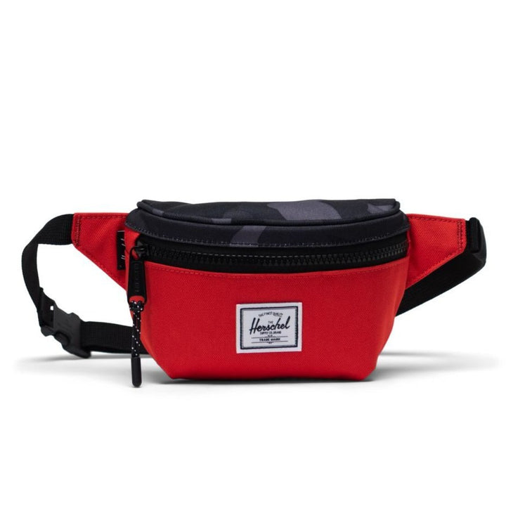 Herschel Red with Grey Camo Kids Fanny Pack