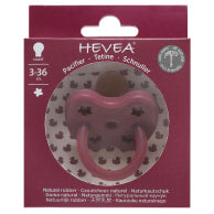 Hevea Natural Rubber Pacifier Round (assorted/colors)