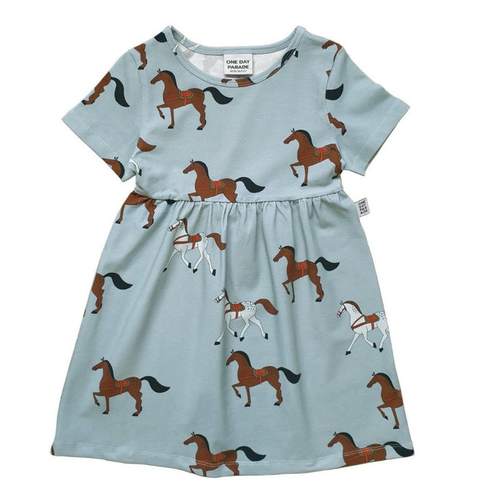 Toddler Horse Print Dress