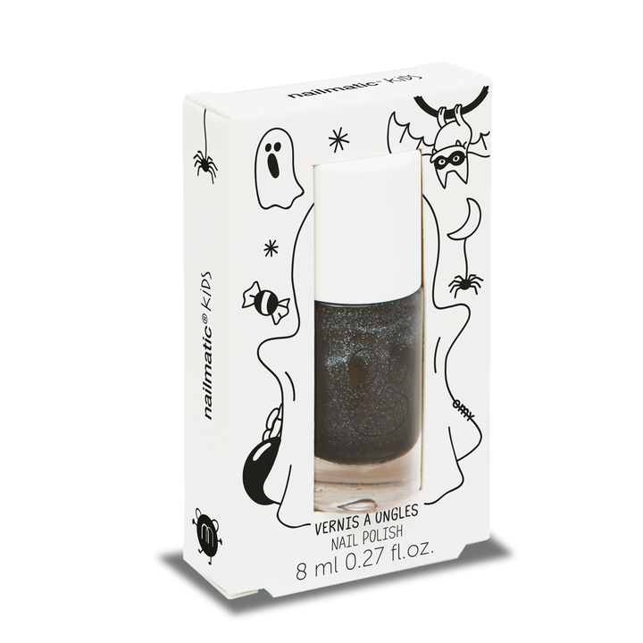 Nailmatic CASPER Nail Polish (Black Glitter)