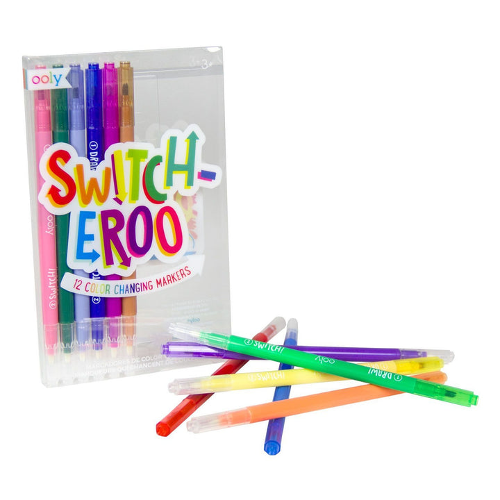 OOLY Switch-eroo Color Changing Markers (set of 12)
