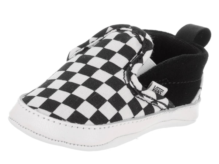Vans V Crib Slip-On Infant shoes (black checker)