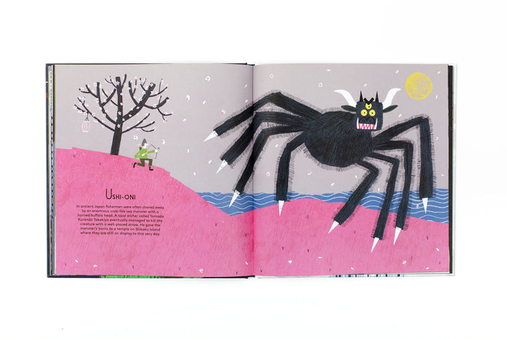 A to Z Monsters & Magical Beings - sample page
