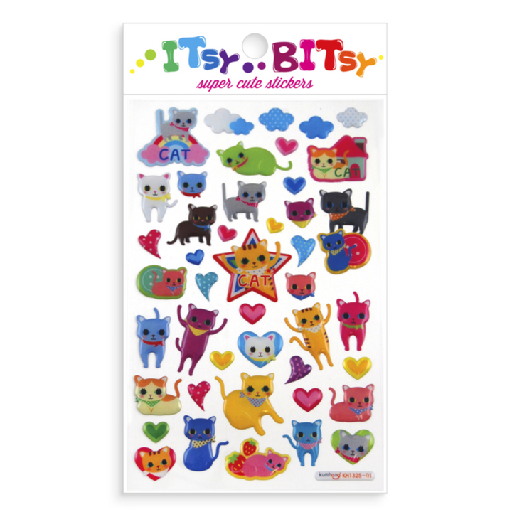 OOLY Itsy Bitsy: Cat Eyes Stickers